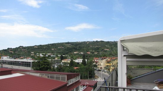 Hotel Pinjola: Superior One-Bedroom Apartment on the top---View from room
