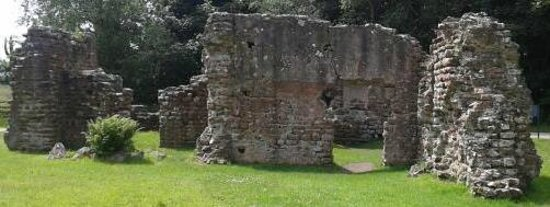 Roman Bath-house: Roman remains at Ravenglass