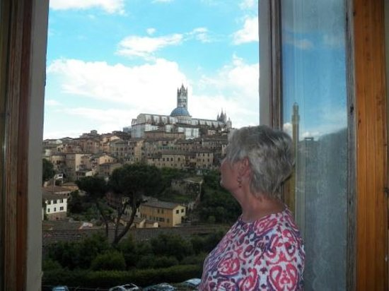 Residenza San Domenico: View from the Superior double room