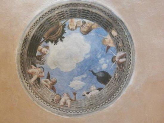 Residenza San Domenico: A whimsical ceiling fresco