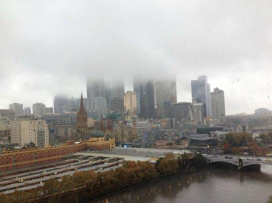 The Langham, Melbourne: Misty city