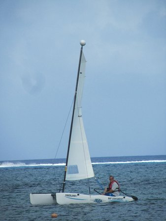Allegro Cozumel: Non motorized water sports are included in your price!