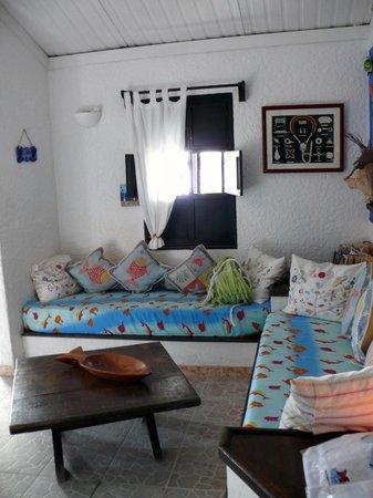Posada Acuario : zona soggiorno della posada