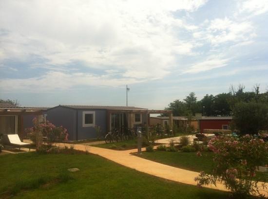 CampingIN Park Umag: 2013 neue Mobile-Homes, sauber und gut