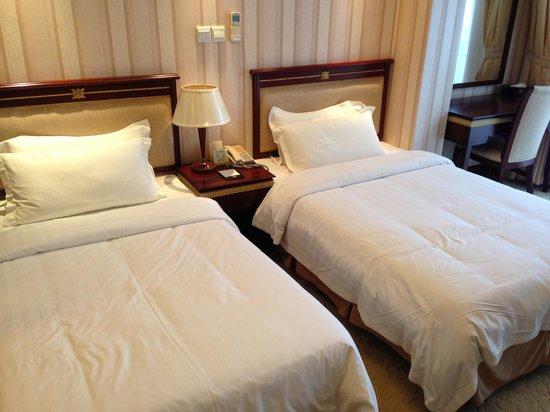 Shanghai Leading Noble International Self-Service Hotel: Bedroom
