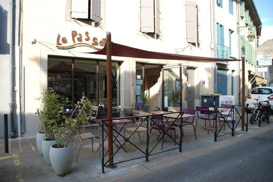 Le Passage : devanture restaurant