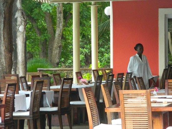 Diamonds Dream of Africa: the restaurant
