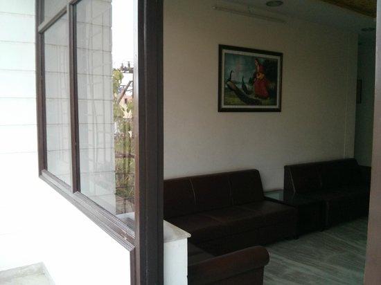 Ace Hotel Jaipur: Evening tea area