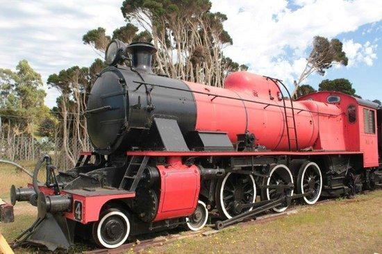 Don River Railway: Una delle locomotive restaurate