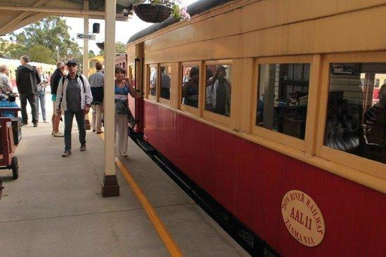 Don River Railway: Una delle carrozze
