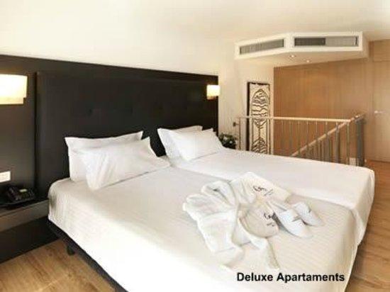 Hotel Playafels : Habitacion Apartamentos Deluxe Playafels