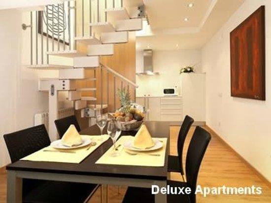 Hotel Playafels : Comedor Cocina Apartamentos Deluxe Playafels