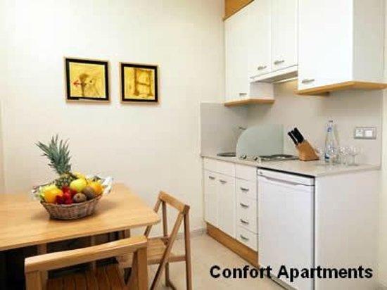 Hotel Playafels : Cocina Apartamentos Confort Playafels