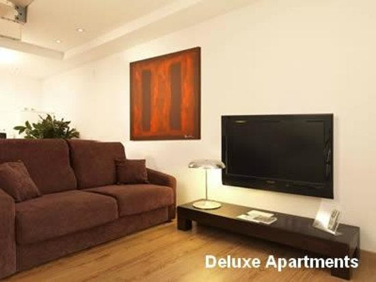 Hotel Playafels : Salon Apartamentos Deluxe Playafels