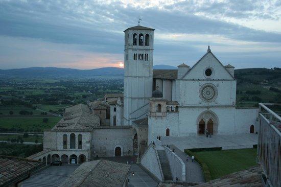 Hotel San Francesco: Vista dalla terrazza dell'albergo