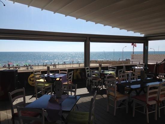 Torvaianica, Italia: terrazza sul mare