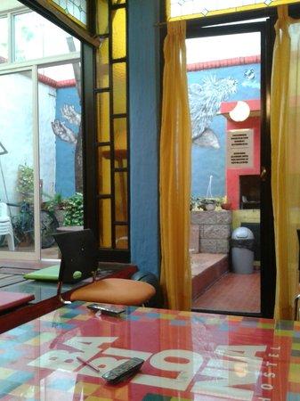 Babilonia Hostel: Espace commun