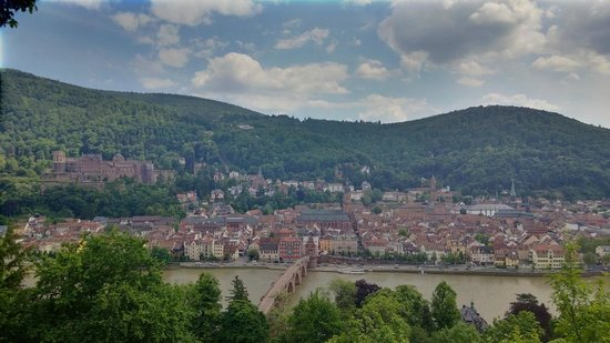 ArtHotel Heidelberg: Heidelberg from 'Philosophenweg'