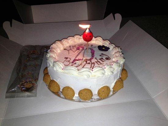 Gelocchio: The birthday cake!