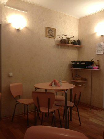 Idillia Mini-Hotel: Local onde era servido o café da manhã