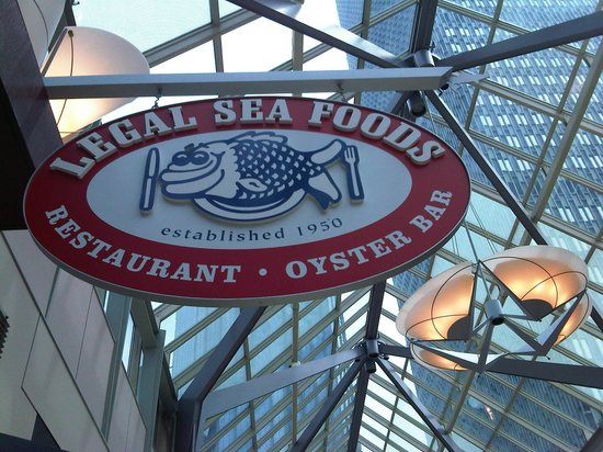 Legal Sea Foods: Front signage