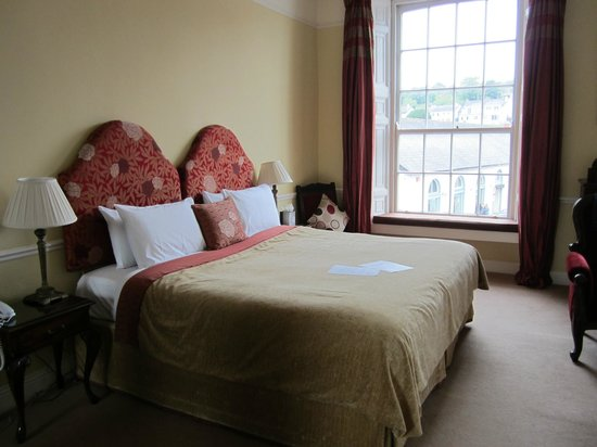 Old Bank House: Half of bedroom (postmaster suite)