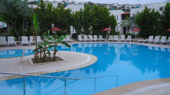 New Mandarin Apart: pool area