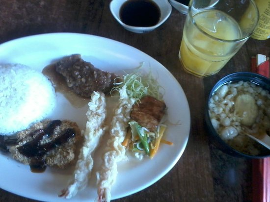 Suzukin Edsa: All day, everyday meal. Yum!