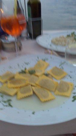 Ristorante Pizzeria Italia Da Nikolas: Pasta which was nice until I realised it tasted like marzipan and marker pens