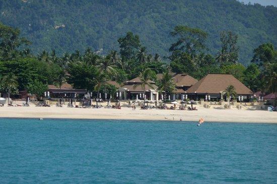 Pavilion Samui Villas & Resort: Hotelanlage vom Merr gesehen