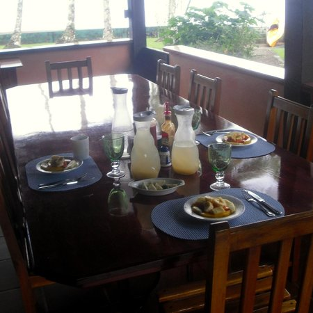 Saladero Eco Lodge: breakfast part 1 (fruits)