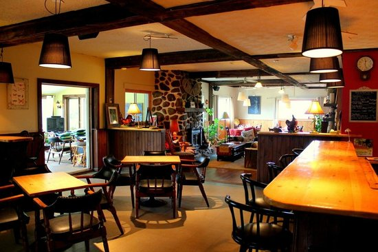Auberge des Appalaches: Common area
