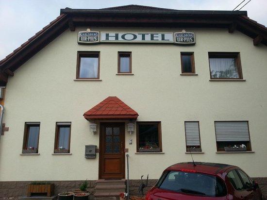 Hotel Laux: Eingangsbereich