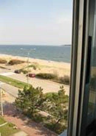 Apart Hotel Punta Azul: vista al mar del apartamento