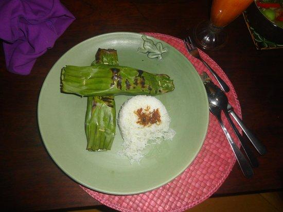 d'Omah Hotel Bali: cena