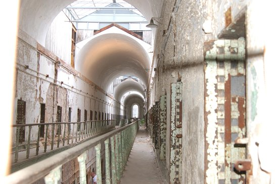 Eastern State Penitentiary: 2nd level of cell block