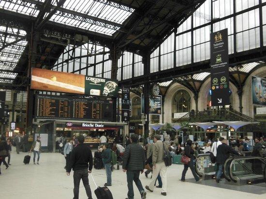 the station picture of mercure paris gare de lyon paris tripadvisor. Black Bedroom Furniture Sets. Home Design Ideas