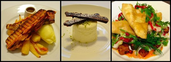 The Monarch Hotel & Church Ruin: Modern Scottish cuisine - freshly prepared using seasonal ingredients.