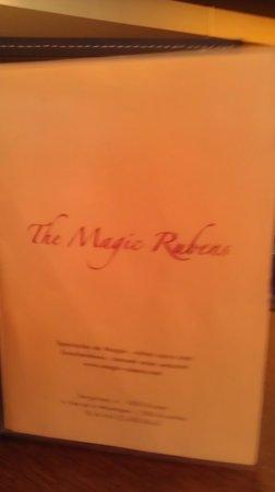 The Magic Rubens: Menu