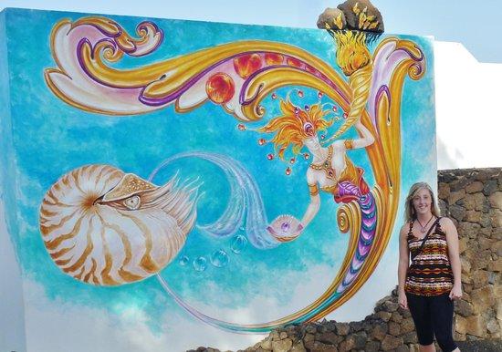 Nautilus Lanzarote: Some of the beautiful artwork