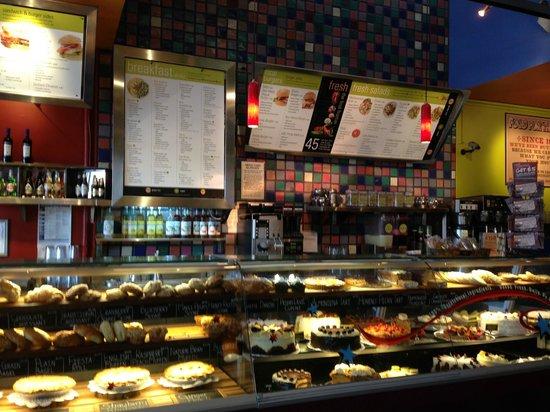 Flying Star Cafe: menu