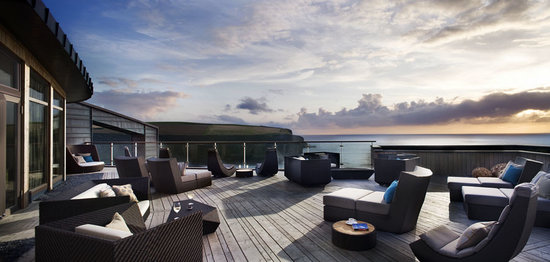 The Scarlet Hotel: Roof Terrace
