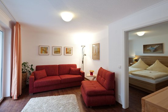 Hotel Rappen am Muensterplatz : Wohnzimmer Appartement