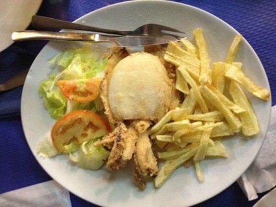 A3 - Casa Manolo: Choco Entero Frito