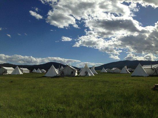 Yellowstone Under Canvas: Day views