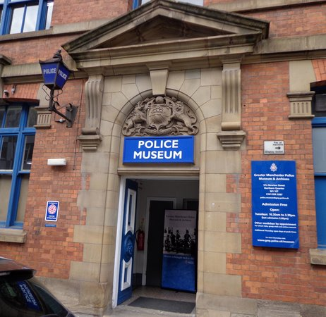 Greater Manchester Police Museum: Entrance on Newton Street