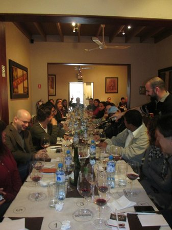 Bodega Privada Peru: Curso y Almuerzo Maridaje Junio 29 del 2013