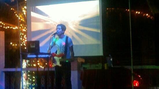 Krishna Hotel : 1st floor music stage