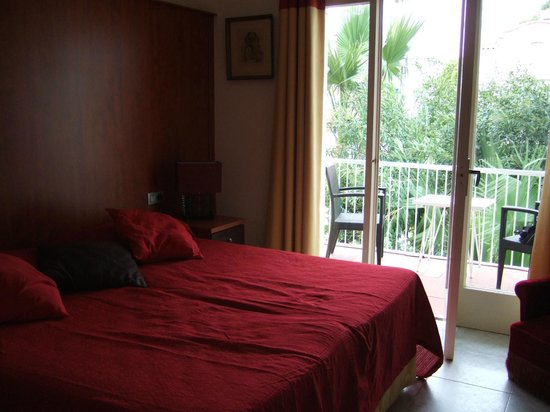 Hotel Los Globos: la habitación