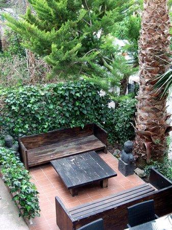 Hotel Los Globos: zona de descanso